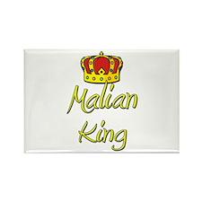 Malian King Rectangle Magnet