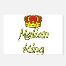 Malian King Postcards (Package of 8)