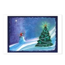 Worship Snowman Postcards (Package of 8)
