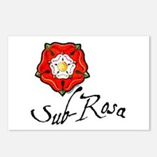 Sub-Rosa Postcards (Package of 8)