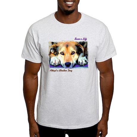 Save a Life - Adopt a Shelter Light T-Shirt