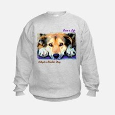 Save a Life - Adopt a Shelter Sweatshirt