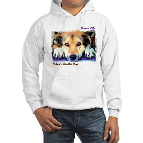 Save a Life - Adopt a Shelter Hooded Sweatshirt