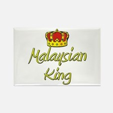 Malaysian King Rectangle Magnet