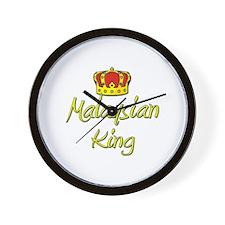 Malaysian King Wall Clock