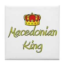 Macedonian King Tile Coaster