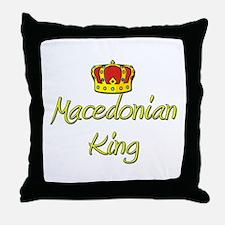 Macedonian King Throw Pillow