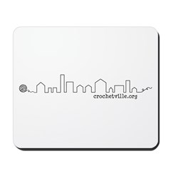 Crochetville Skyline Mousepad