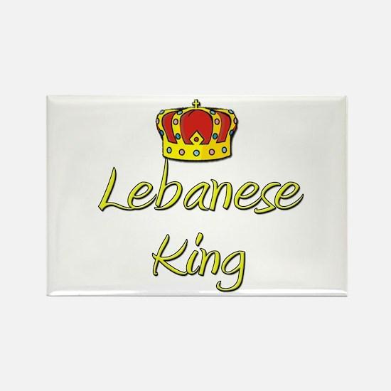 Lebanese King Rectangle Magnet