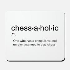 Chess Chessaholic Mousepad