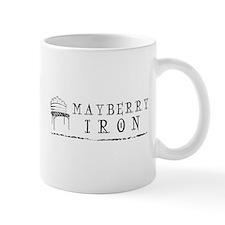 final mayberry iron logo w swoosh Mugs