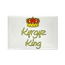 Kyrgyz King Rectangle Magnet