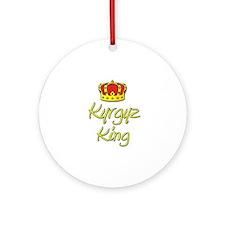 Kyrgyz King Ornament (Round)
