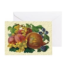Fancy Fruits Greeting Card