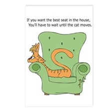 Best Seat In House Postcards (Package of 8)