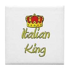 Italian King Tile Coaster
