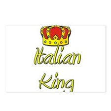 Italian King Postcards (Package of 8)