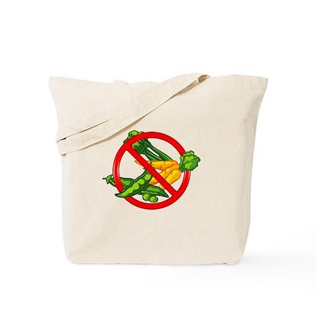 No Veggies Tote Bag