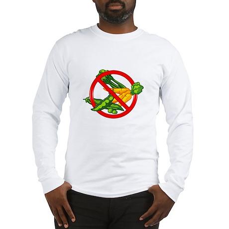 No Veggies Long Sleeve T-Shirt