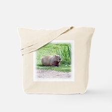 Capybara Laying Down Tote Bag