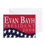 Evan Bayh for President (6 Greeting Cards)