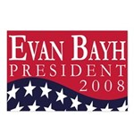 Evan Bayh for President 2008 (8 Postcards)