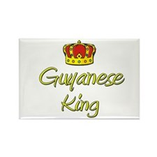 Guyanese King Rectangle Magnet