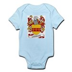 Leonard Coat of Arms Infant Creeper