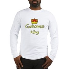 Gabonese King Long Sleeve T-Shirt