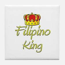 Filipino King Tile Coaster
