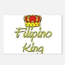 Filipino King Postcards (Package of 8)