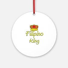 Filipino King Ornament (Round)