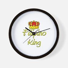 Filipino King Wall Clock
