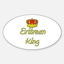 Eritrean King Oval Decal