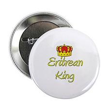 """Eritrean King 2.25"""" Button"""