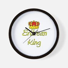 Eritrean King Wall Clock