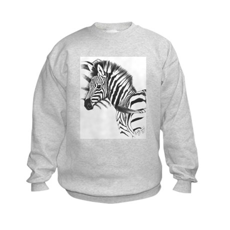 Zebra Kids Sweatshirt