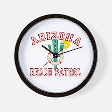 Arizona Beach Patrol Wall Clock