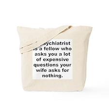 Joey adams quotation Tote Bag
