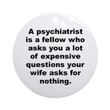 Cool Joey adams quotation Ornament (Round)