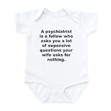 Joey adams quotation Infant Bodysuit