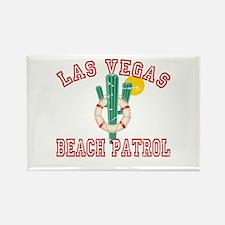 Las Vegas Beach Patrol Rectangle Magnet