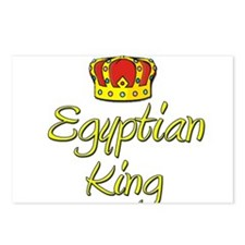 Egyptian King Postcards (Package of 8)
