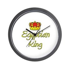 Egyptian King Wall Clock