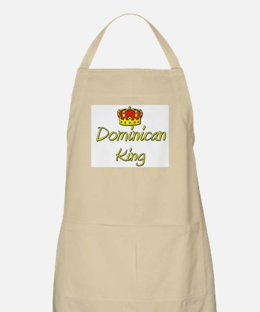 Dominican King BBQ Apron