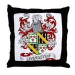 Livingston Coat of Arms Throw Pillow