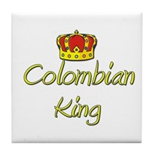 Colombian King Tile Coaster