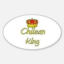 Chilean King Oval Decal