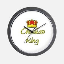 Chadian King Wall Clock