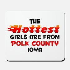 Hot Girls: Polk County, IA Mousepad